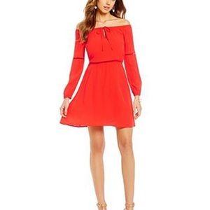Gianni Bini Mandarin Red Dress XS
